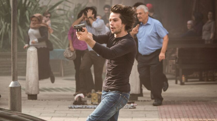 """O'Brien had to do a number of action scenes in """"American Assassin."""""""