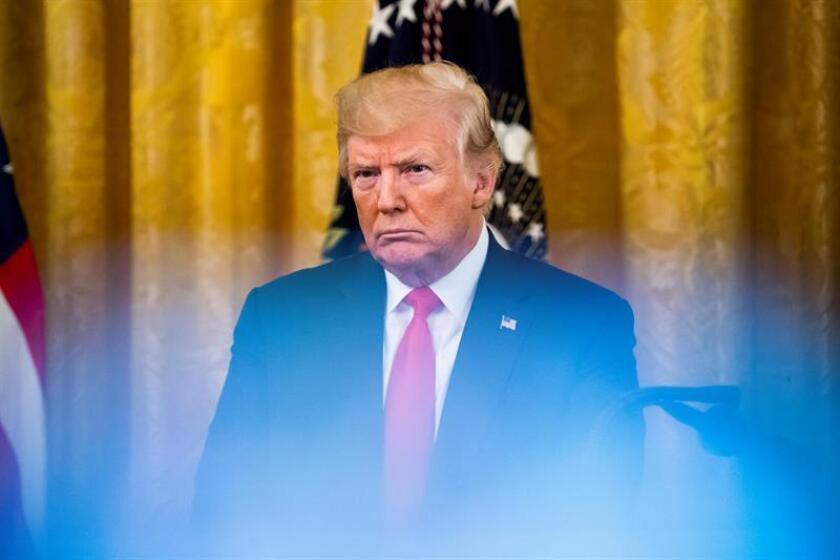 El presidente de EE. UU., Donald J. Trump. EFE/Archivo