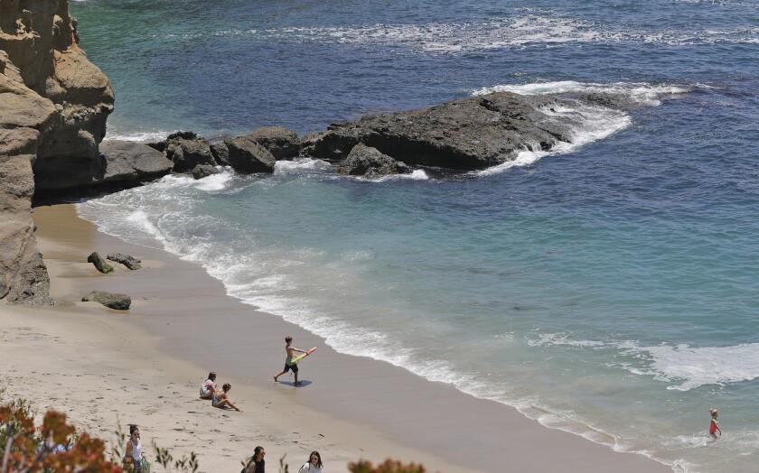 Treasure Island Beach at the Montage Resort in Laguna Beach.