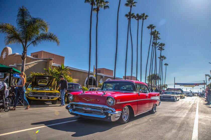 The Goodguys 19th Meguiar Del Mar Nationals indoor car show features thousands of cars, plus demos, vendors, and competitions at the Del Mar Fairgrounds April 5-7.