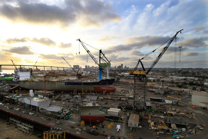 Shipyards and other industrial activity in Barrio Logan have been blamed for pollution in that community