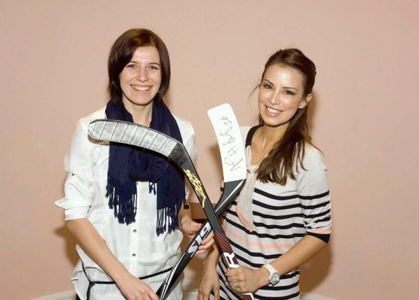 Zuzana Moravcikova and Jessica Penner