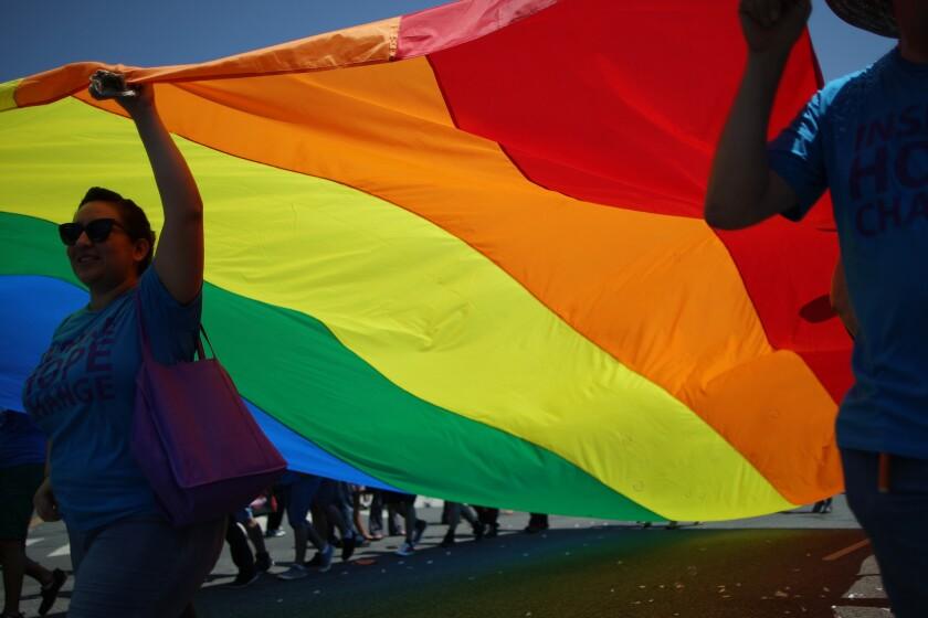 Los Angeles gay pride parade