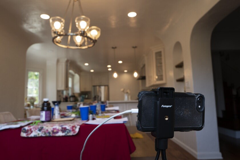"""""""We're trying to relay to our community that this is important to do, and while doing it over Zoom is not as ideal as an in-person gathering, we have a responsibility to almost document this,"""" Jason Leivenberg said."""