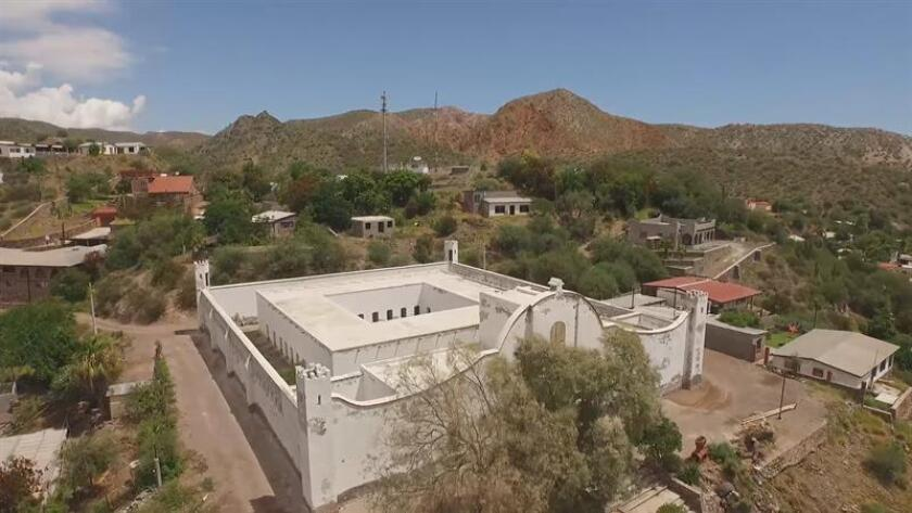 Fotografía que muestra la cárcel sin puertas de Mulegé en Baja California Sur. EFE/MÁXIMA CALIDAD DISPONIBLE