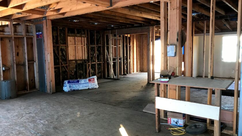 Jorge Hernandez has had to hire a new contractor to finish his Reseda, Calif., home remodel and gara