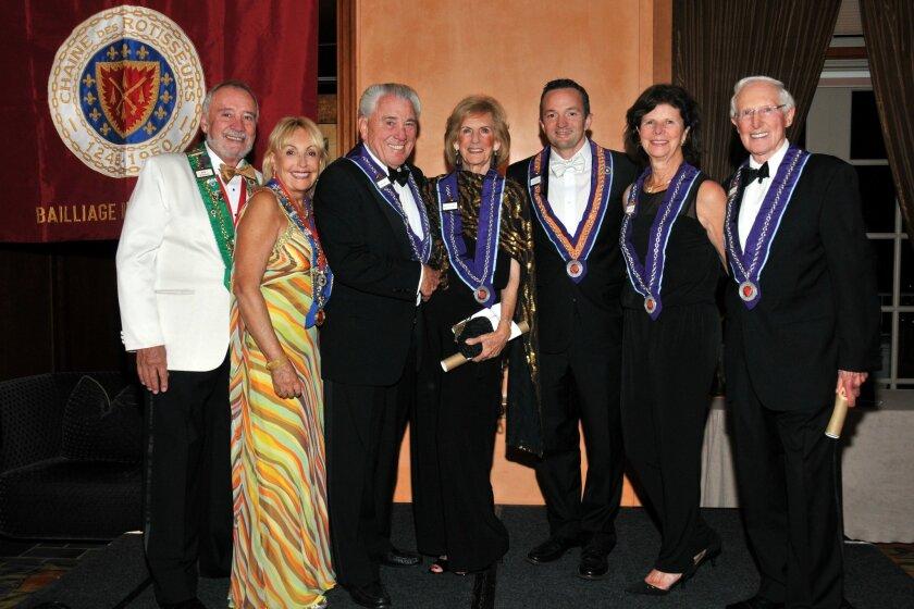 L-R: Dominick Addario, Marie Addario, Vearl Smith, Mary Anne Smith, Juan Blanchard, Nancy Crosby and Richard Crosby. Courtesy photo