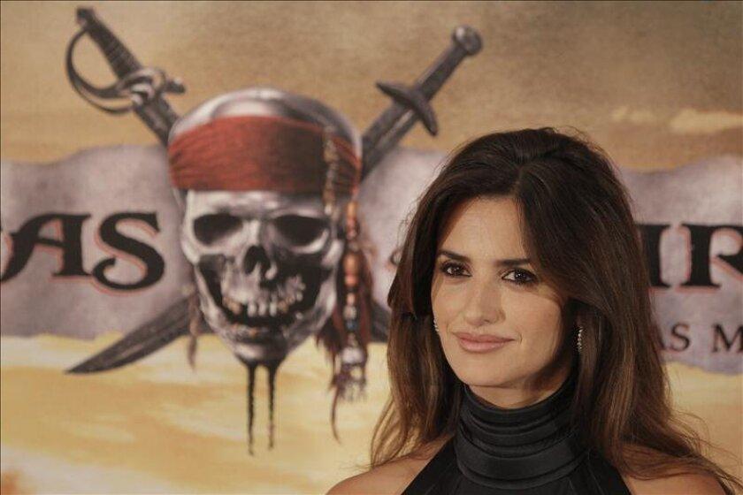 """Disney no pudo confirmar por el momento si la española Penélope Cruz, que apareció en la cuarta parte, llamada """"On Stranger Tides"""", regresará en esta continuación. EFE/Archivo"""