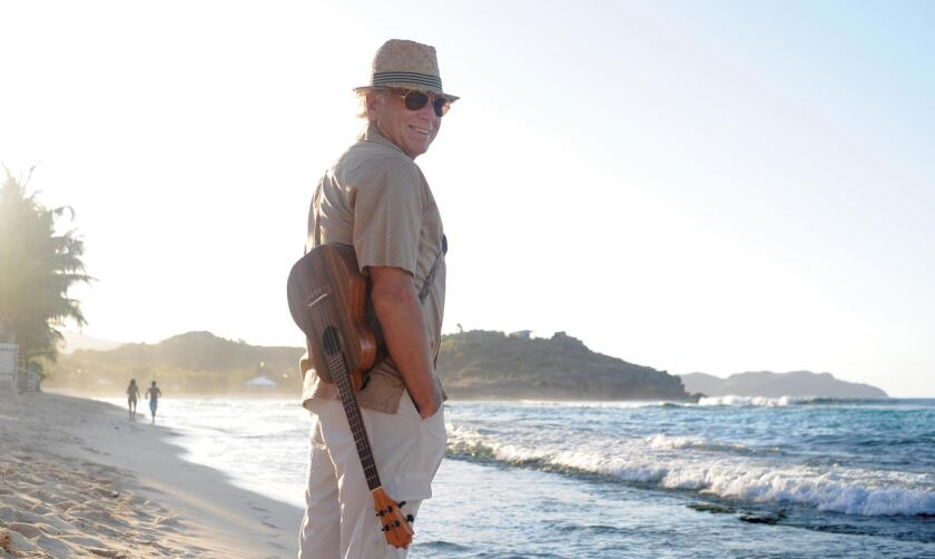 """Legendary singer-songwriter-author Jimmy Buffett, composer/lyricist for La Jolla Playhouse's world premiere musical 'Escape to Margaritaville,"""" which runs May/June 2017 in the Mandell Weiss Theatre."""
