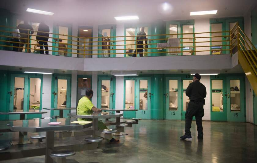 California immigrant detainees face long periods of