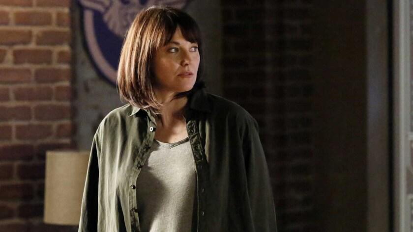 "Lucy Lawless in ""Marvel's Agents of S.H.I.E.L.D."""