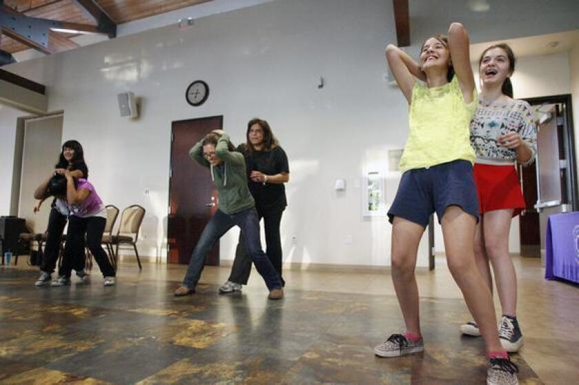Glendale's Commission on the Status of Women holds self-defense classes in April on city property for women and girls in honor of Sexual Assault Awareness Month.