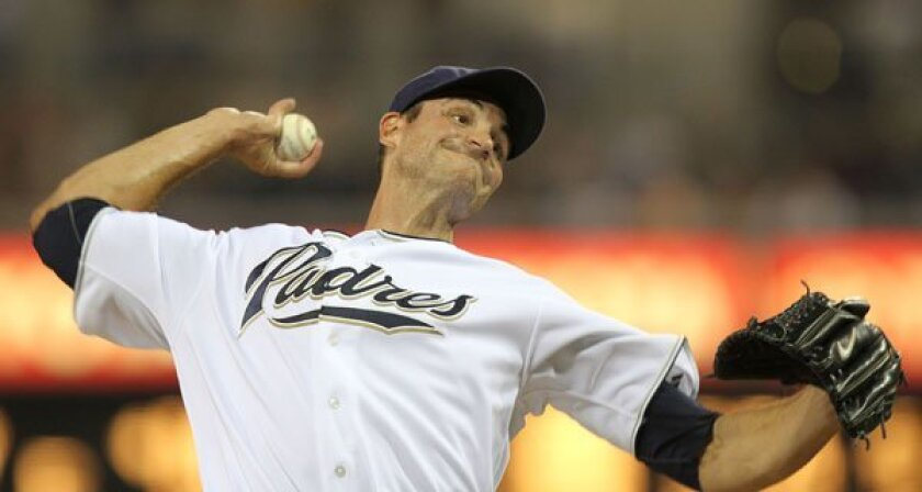 Chris Young starts for the Padres.
