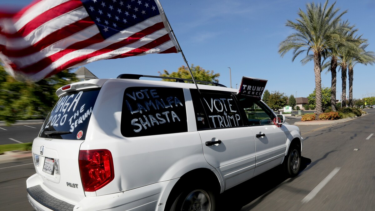 In red California, election tests friendships, worsens divisions. 'You can feel the tension'