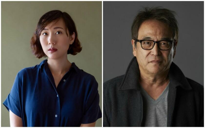 Authors Steph Cha and Joe Ide