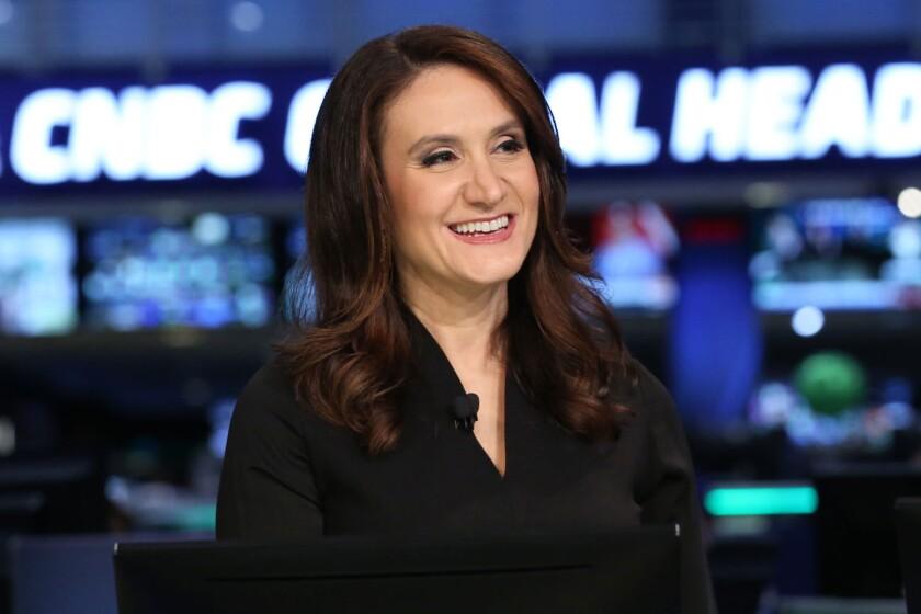 Michelle Caruso-Cabrera of CNBC