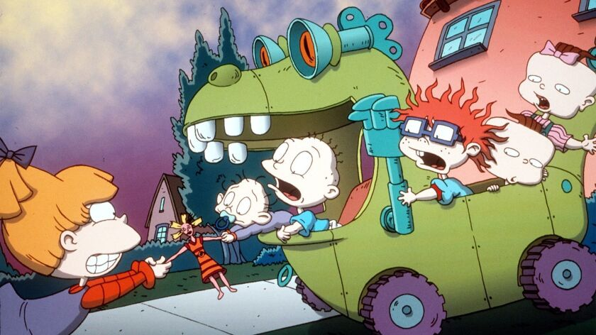 To help you feel young again, Nickelodeon is reviving 'Rugrats ...
