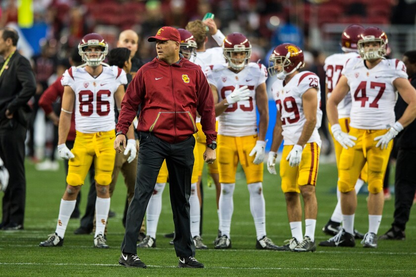 USC Now mailbag: Coaching changes, recruiting and quarterback competition