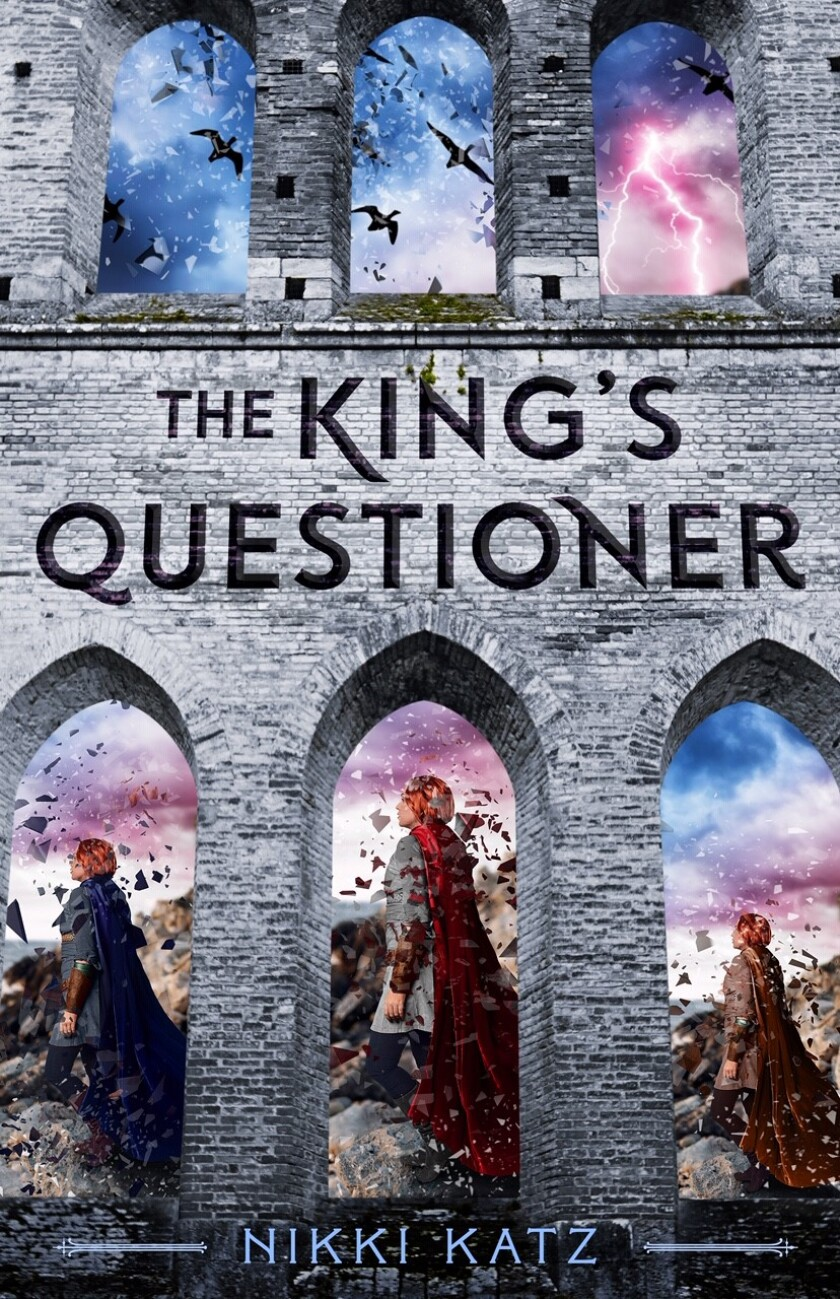 "The cover of ""The King's Questioner"""