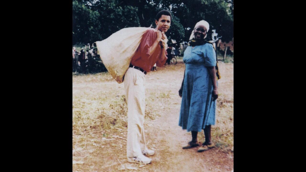 Obama's 1987 Kenya visit