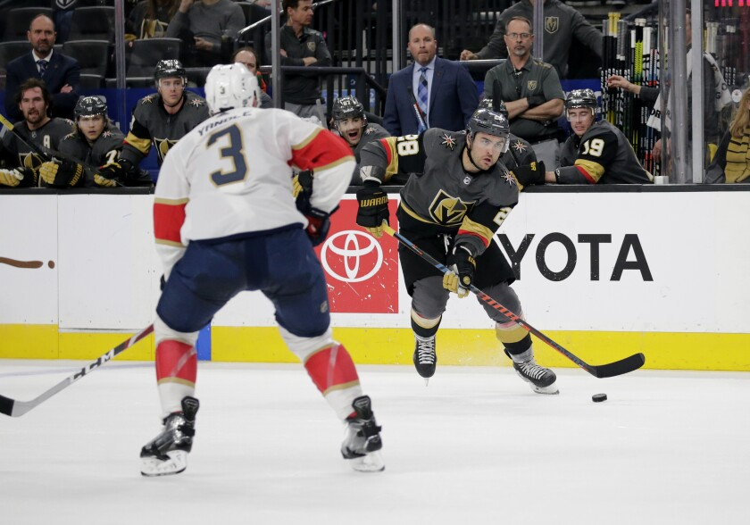 Panthers Golden Knights Hockey