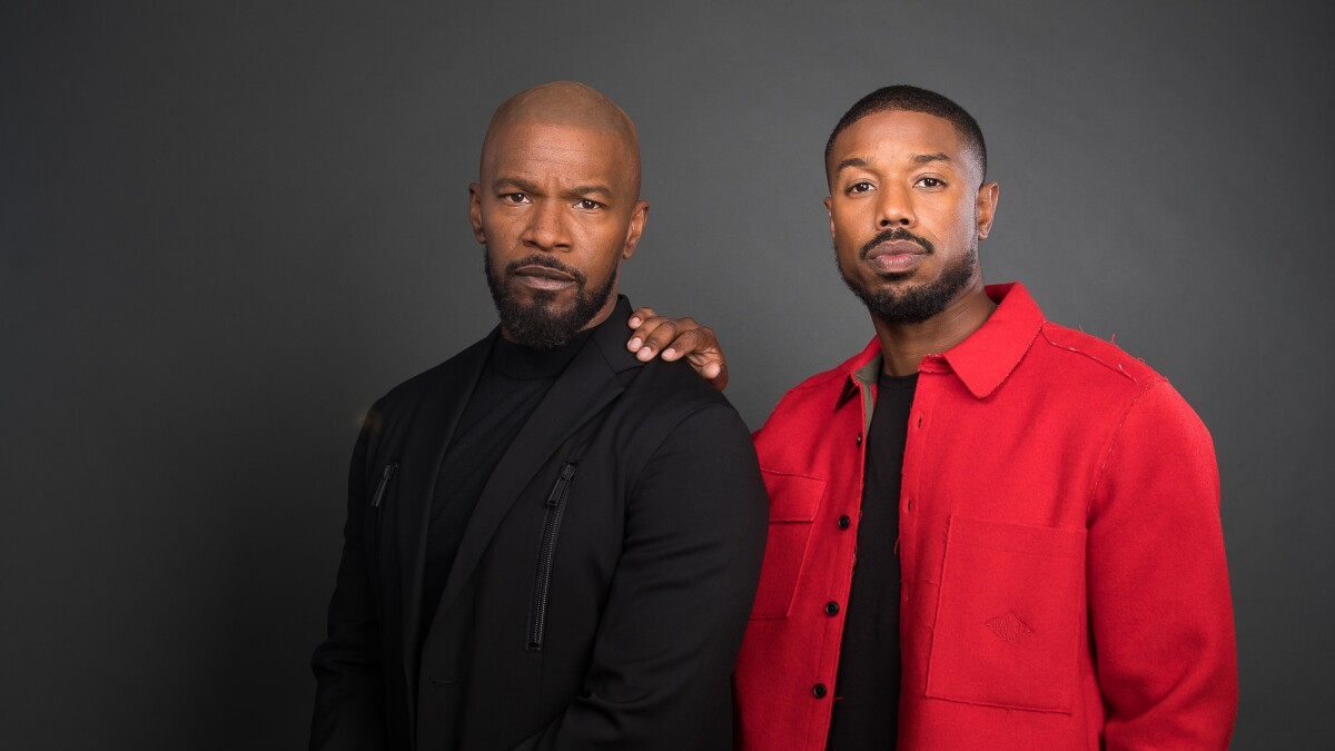 Jamie Foxx and Michael B. Jordan see God's work in their new movie, 'Just Mercy'