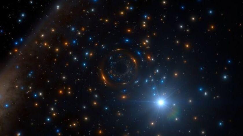 Una estrella tenía intrigados a los astrónomos del observatorio de Paranal, en Chile.