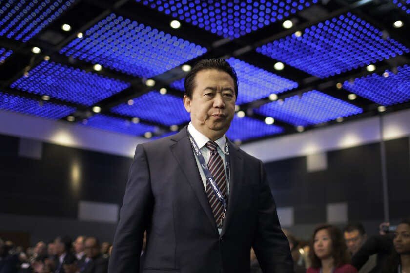 Interpol President Meng Hongwei has been reported missing.