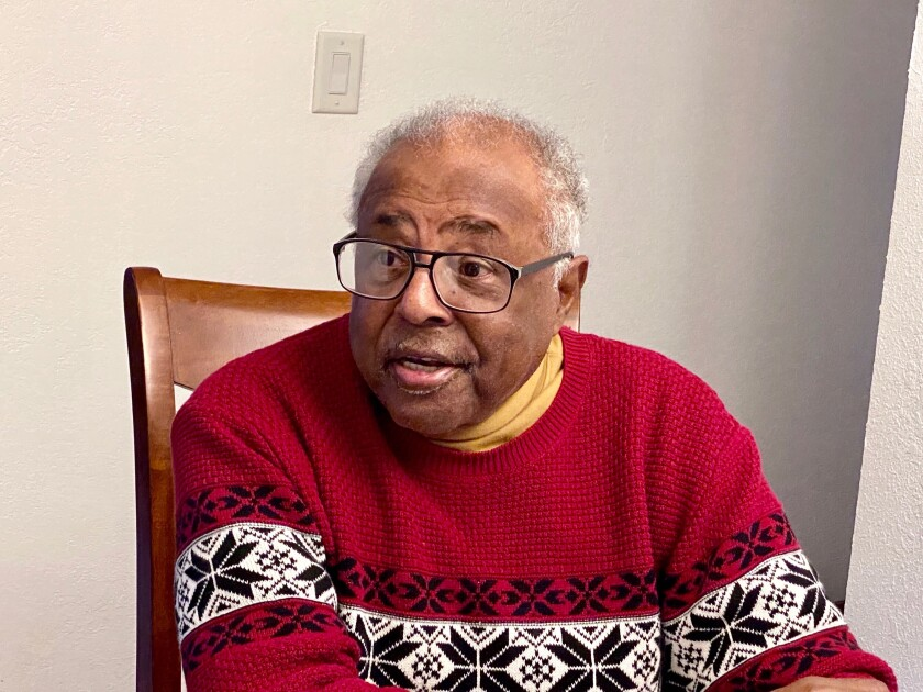 Robert Griffin, 82, a former NAACP community organizer