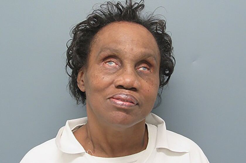 This undated photo provided by the Arkansas Department of Correction shows Willie Mae Harris. Arkansas Gov. Asa Hutchinson announced Wednesday, March 4, 2020, he plans to commute the life sentence of Harris, making her immediately eligible for parole. Harris was convicted of first degree murder in the shooting death of her husband, who she said abused her. (Arkansas Department of Correction via AP)