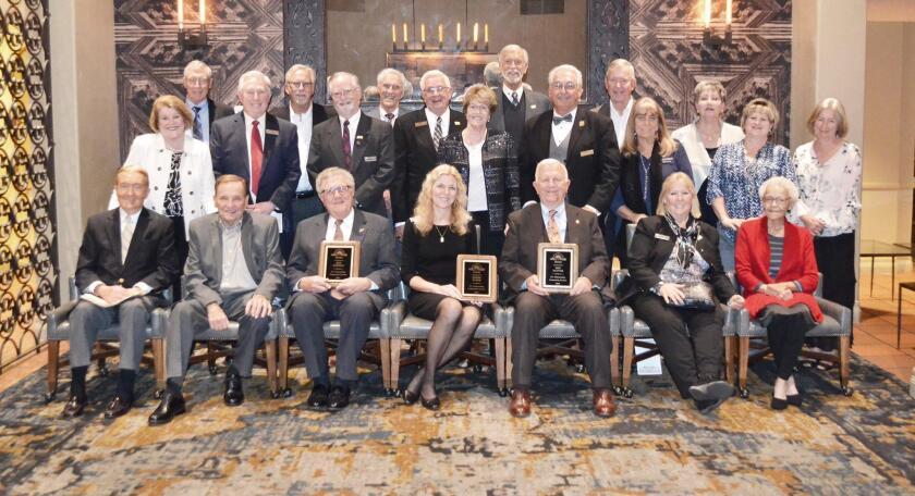 Rancho Bernardo Hall of Fame gala - 3/9/2019