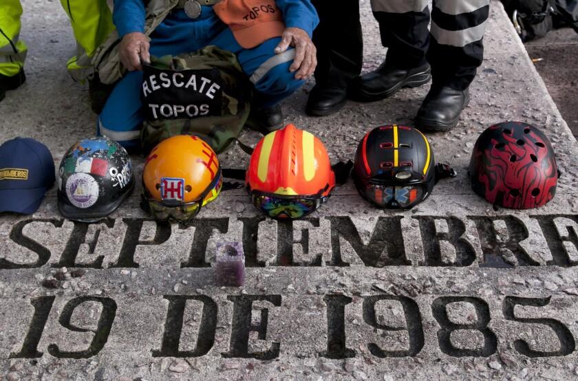 Mexico City earthquake anniversary