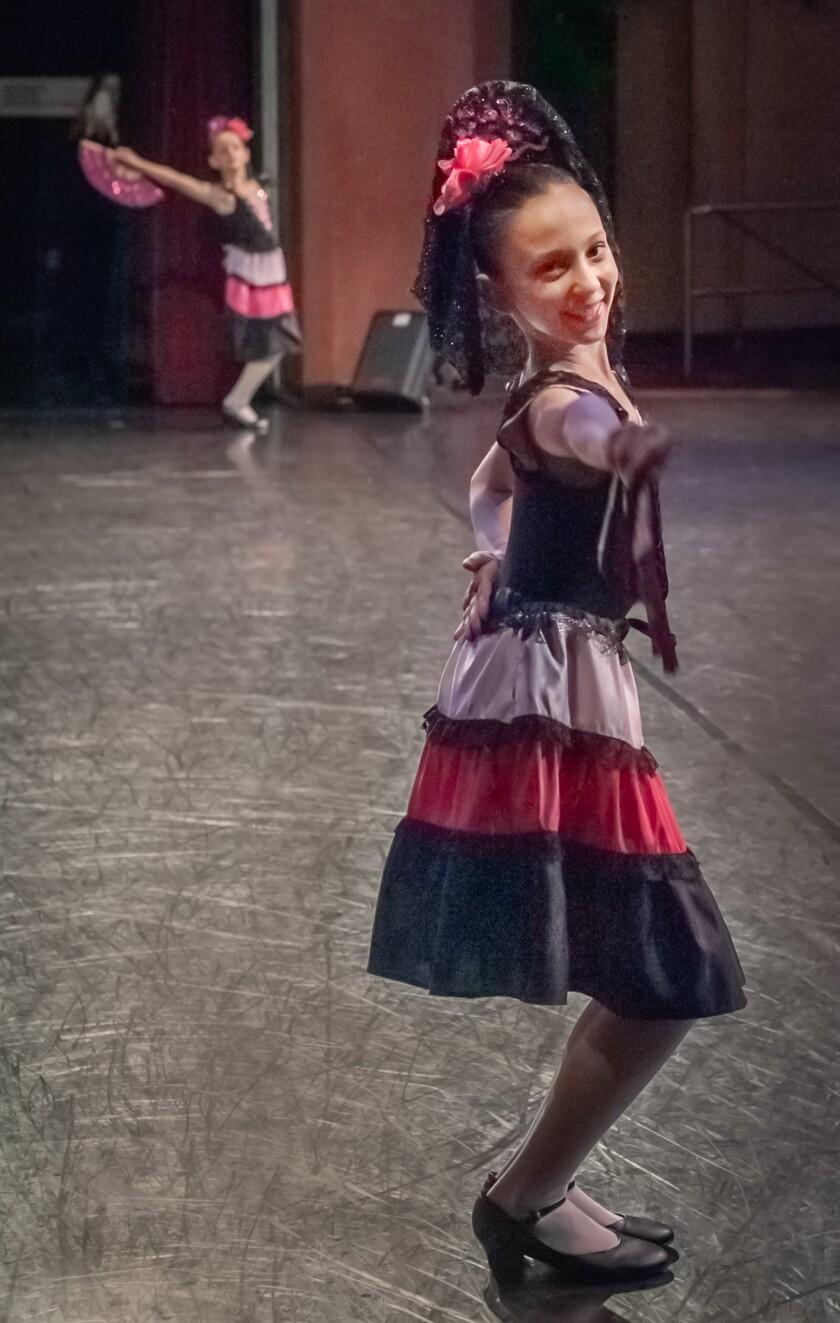 A photo of Ella in nutcracker by Ballet Institute of San Diego