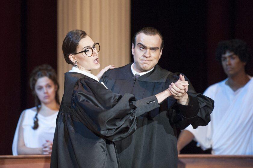 'Scalia/Ginsburg' rehearsal