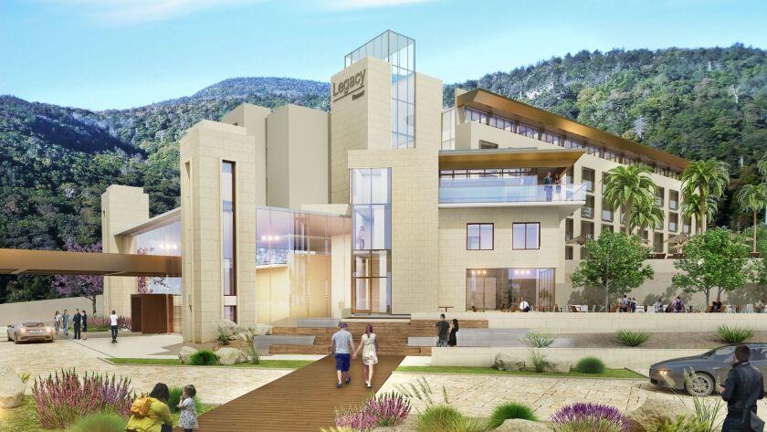 Rendering of Legacy Hotel