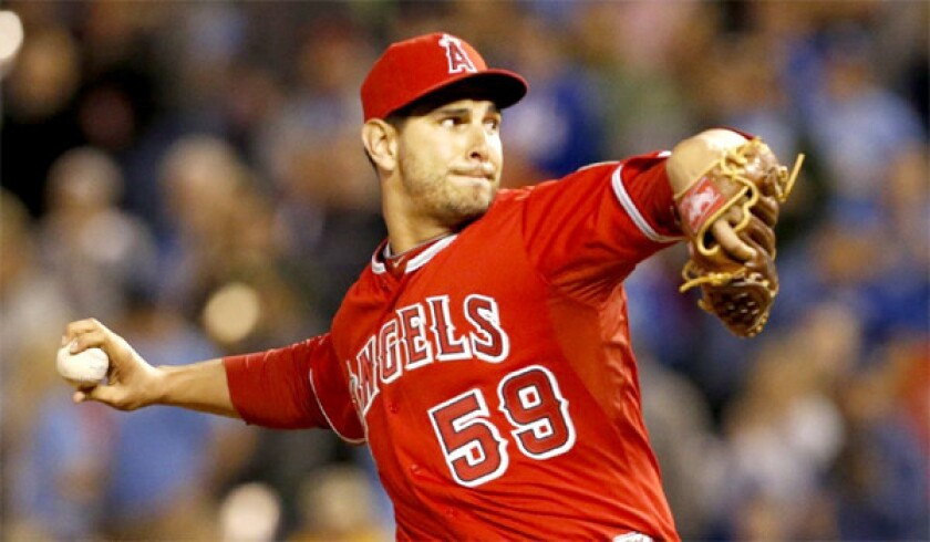 Robert Coello's hybrid pitch has been an effect weapon for the Angels right-hander this season who has provided the team with 7 1/3 innings of work with 12 strikeouts and no earned runs.