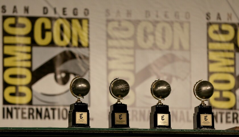 The winners of the Will Eisner Comic Industry Awards will be announced at San Diego Comic-Con.