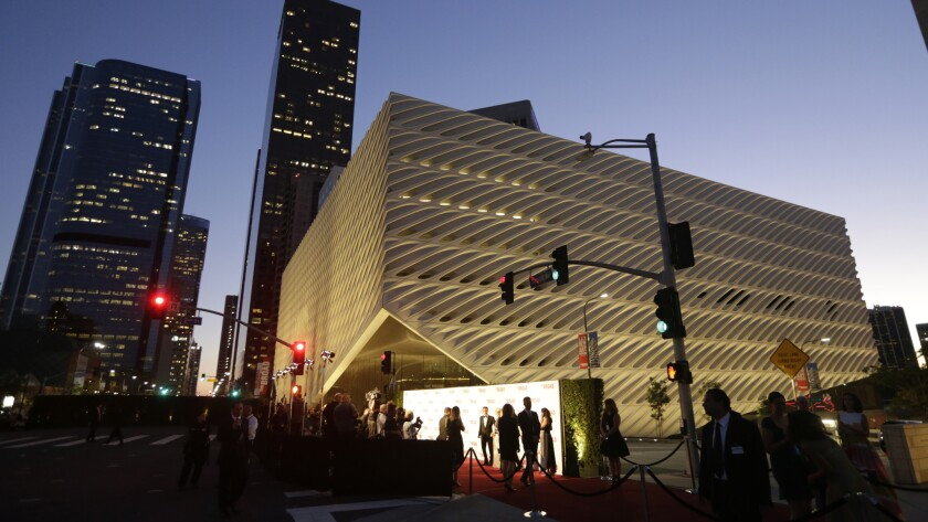The Broad museum gala