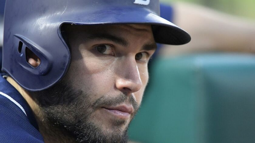 Hosmer looks to push reset button after subpar first season with Padres