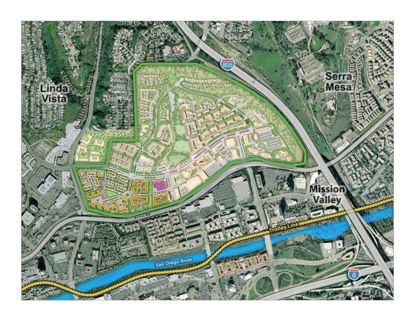 The Civita land plan calls for more than 4,700 homes, nearly 1 million square feet of commercial development and several dozen acres in parkland and open space. Development is expected to continue for 12 to 15 years.