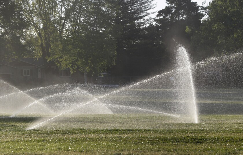 """Gov. Jerry Brown announced he wants to fine """"only the worst offenders"""" in wasting water up to $10,000 per day."""
