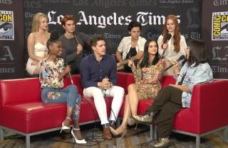 "The stars of ""Riverdale"" talk season 2 at Comic Con"