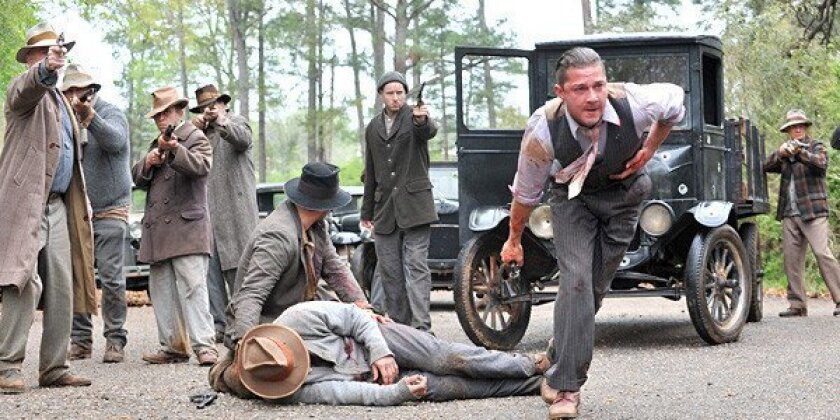 """Shia LaBeouf, right, in a scene from """"Lawless."""""""