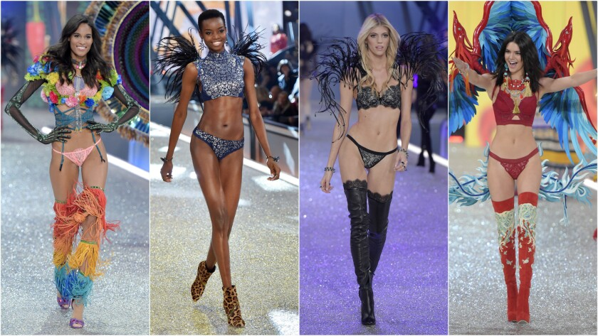 Other looks from the Victoria's Secret runway show in Paris.