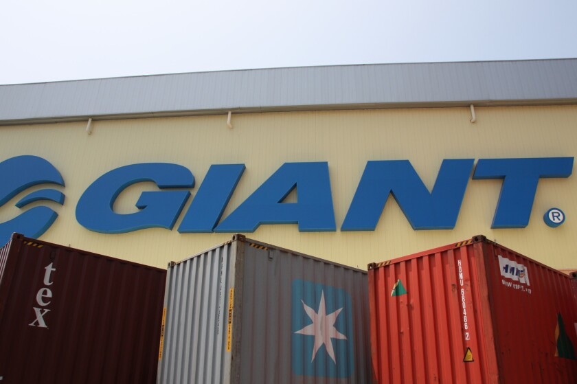 A tour of the Giant Manufacturing Co. plant in Taichung City, Taiwan