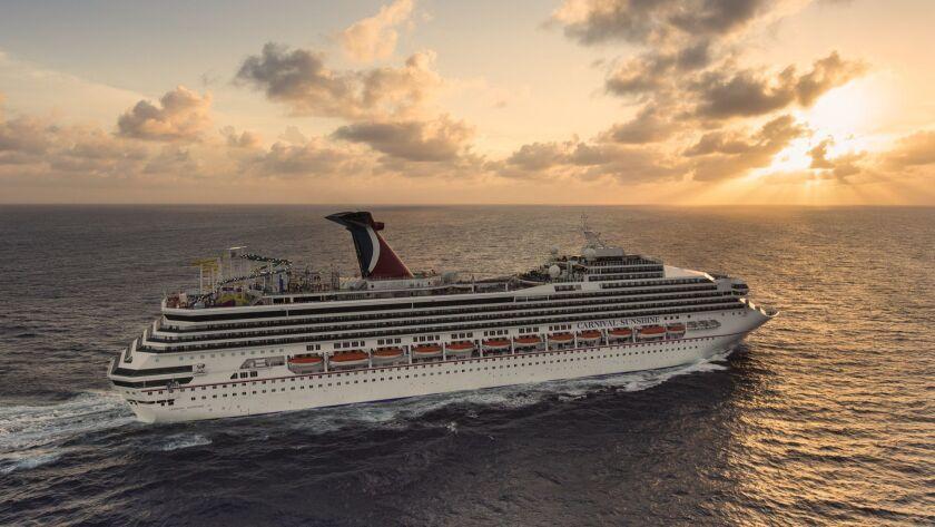 Carnival Sunshine will make four-day cruises from Charleston, S.C., to Havana.