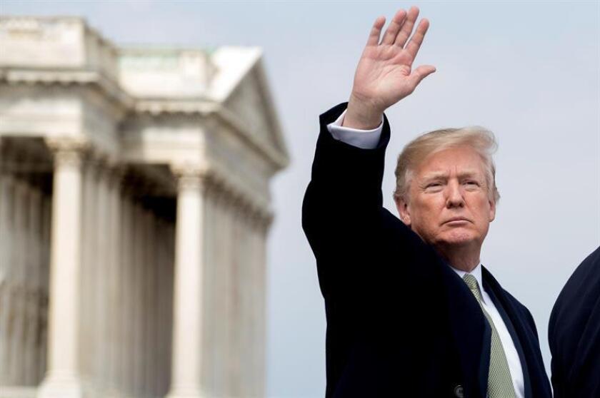 El presidente Donald Trump tiene decidido cesar a su asesor de seguridad nacional, el general H.R. McMaster, en medio de rumores de otros cambios inminentes en el Ejecutivo, según informó hoy The Washington Post. EFE/ARCHIVO