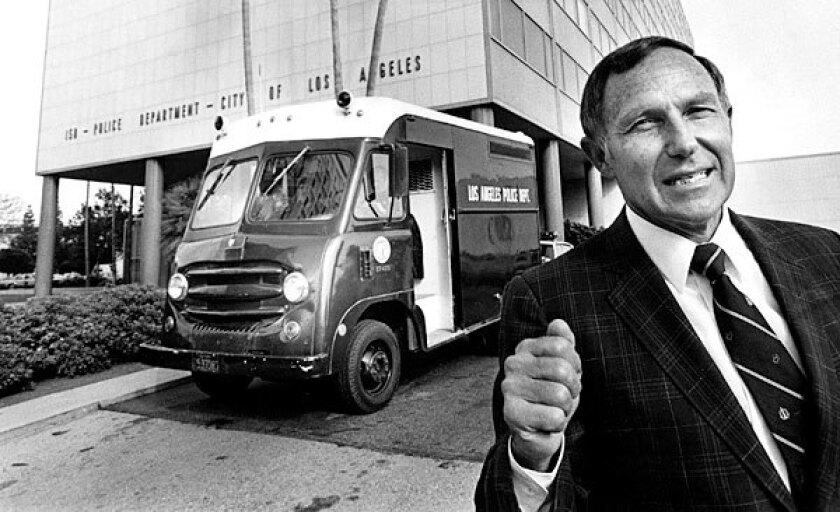 Former LAPD Chief Daryl Gates