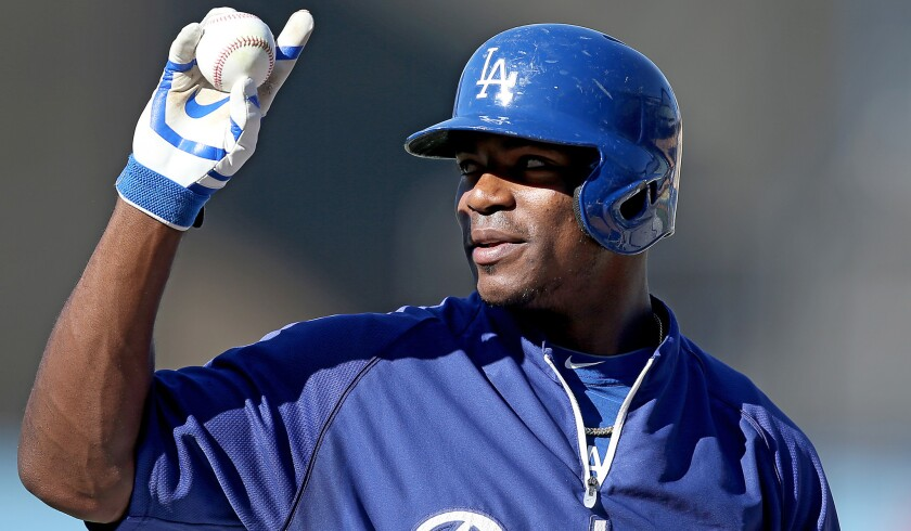 Dodgers outfielder Yasiel Puig is only 24 and has a chance in his third season to become a cornerstone of the franchise.