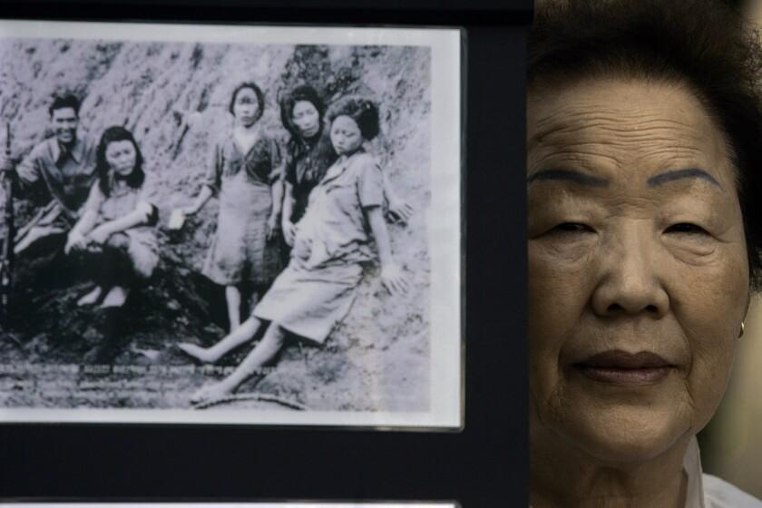 Former comfort woman Yong-Soo Lee.